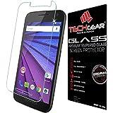 TECHGEAR� Motorola Moto G (3rd Gen / 2015 Edition) GLASS Edition Genuine Tempered Glass Screen Protector Guard Cover (Moto G3)