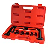 Tooltime® New 5 in 1 Valve Spring Compressor Tool Kit 10PCS Pieces set For Cars Vans Motorcycles Bikes