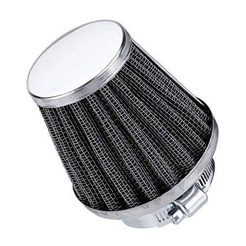 Preisvergleich Produktbild GOZAR Motorcycle Cold Air Filter Fit for Kawasaki / Suzuki Ducati / Yamaha Pod Cleaner 35 / 39 / 48 / 50 / 54 / 60mm - 48mm