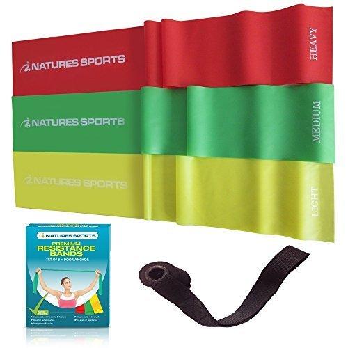 flat-esercizio-fasce-elastiche-fasce-di-resistenza-3-x-set-leggero-medio-pesante-senza-lattice-fisio