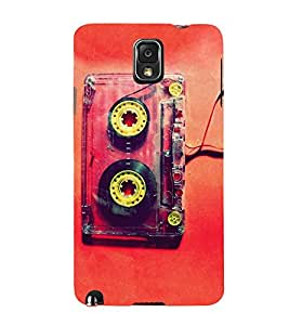 Blue Throat a Vintage Audio cassete pic Back Case Cover for Samsung Galaxy Note 3 :: Samsung Galaxy Note III :: Samsung Galaxy Note 3 N9002 :: Samsung Galaxy Note 3 N9000 N9005