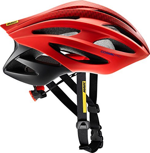 Mavic Cosmic Pro Casco 2017, Black/Fiery Red