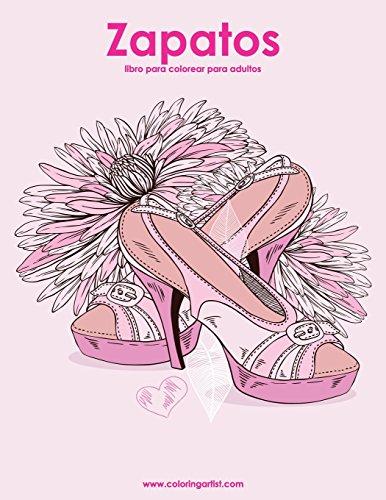 Zapatos libro para colorear para adultos 1: Volume 1 por Nick Snels