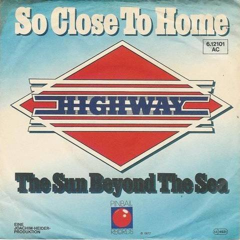Highway - So Close To Home - Pinball Records - 6.12 101, Pinball Records - 6.12101 AC (Highway 101 Vinyl)