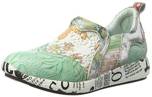 Laura Vita Damen Burton 02 Sneakers Grün (Vert)