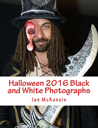 Halloween 2016 Black and White Photographs (English Edition)