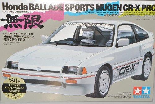 TAMIYA Honda Ballade Sports Mugen CR-X Pro 24045 Kit Bausatz 1/24 Modell Auto Modell Auto - Kit Modell Auto Spielzeug Sport