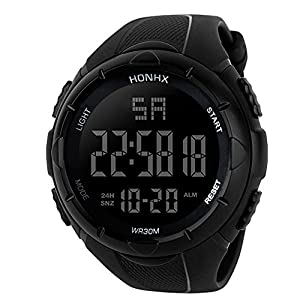 DOLDOA Mens Sport Outdoor Digital Multifunction Waterproof Watches,Sale Clearance