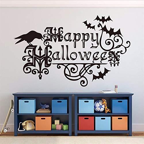 Ljtao Happy Halloween Hause Haushaltsraum Wandaufkleber Wandbild Dekor Aufkleber Abnehmbare Hot Diy Wandkunst Aufkleber Dekoration Mode Aufkleber