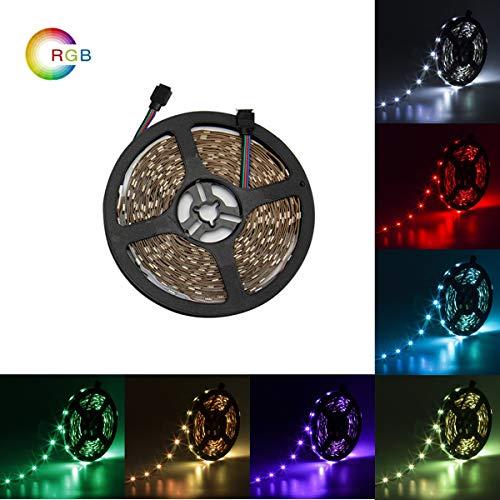 32.8ft LED luces de tira 24V 5A Led luces de la cinta SMD5050 300LEDs Non-Waterproof RGB tira iluminación decorativa para sala de fiestas por Uhomely