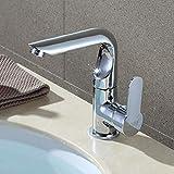 YGMDSL Waschbecken Kalt- Und Warmwassermischer Ein Loch Badezimmer Küche Doppelnutzen Wasserhahn