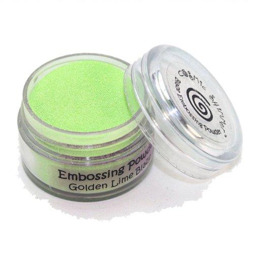 Unbekannt Cosmic Shimmer Blaze Embossing-Pulver, Golden Lime (Pulver Emboss)