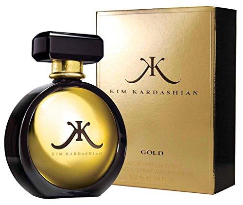 Kim Kardashian Gold EDP Parfüm Köln Spray für Ihre 100ml mit Geschenk Tüte (Kim Kardashian Parfüm)