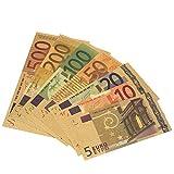 Rosepoem 5 10 20 50 100 200 500 EUR 7 Stück Gute Qualität Vergoldet Antiquität Kollektion Souvenir