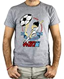PLANETACAMISETA Camiseta Hombre - Unisex Capitan Tsubasa, Oliver y Benji