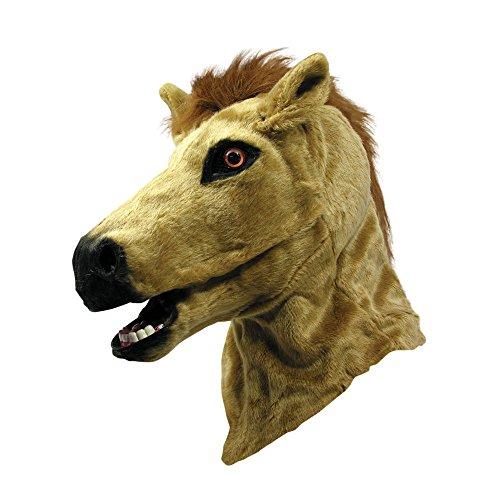 3Emigrate–My Horse Maske mit beweglichen Mund, One size (Horse Racing Brille)