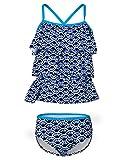Mädchen Bikini Set Kinder Tankini Schwimmen Unterricht Bademode 9-10 Jahre