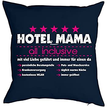 weihnachtsgeschenk f r mama kissen mit f llung hotel mama. Black Bedroom Furniture Sets. Home Design Ideas