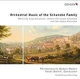 Schuncke: Orchesterwerke (Weltersteinspielungen)