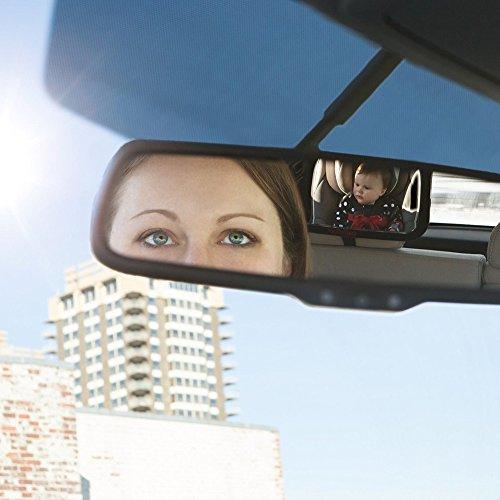 Mpteck espejo retrovisor beb coche retrovisor ajustable - Espejo irrompible ninos ...