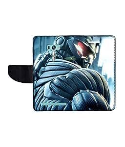 KolorEdge Printed Flip Cover For Asus Zenfone Selfie ZD551KL Multicolor -(1479-55KeMLogo10239ZenSelfie)