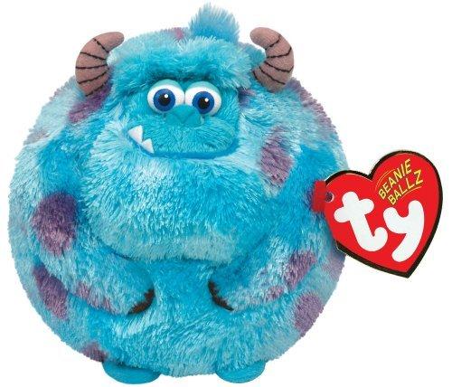 Disney Monsters Inc EIT Sulley - Kleine Größe Kugel Plüsch - Disney Monsters Inc TY Sulley - Small Size Ball Plush