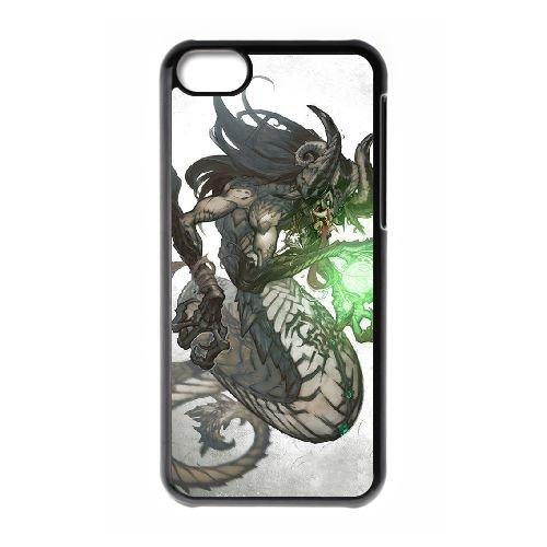 Darksiders coque iPhone 5C Housse téléphone Noir de couverture de cas coque EBDXJKNBO14922