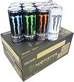 Monster Energy Drink Energie und das Chaos und die absolute Lee Null und ultra vier Mix Set 355ml Dosen X24 Flaschen
