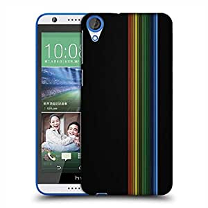Snoogg Simple Lines Vector Designer Protective Phone Back Case Cover For HTC Desire 820
