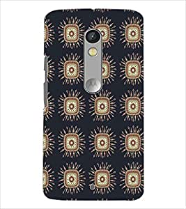 MOTOROLA MOTO X PLAY SQUARE PATTERN Designer Back Cover Case By PRINTSWAG