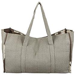 Marmiite 100% Polyester and Linen Handbags