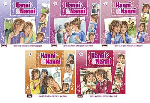 Hanni & Nanni Folge/CD 1-5 - Starter Set - Deutsche Originalware [5 CDs]