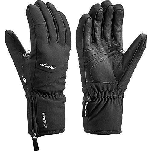 Leki Damen Ski Handschuhe Shape S Lady schwarz 8.5