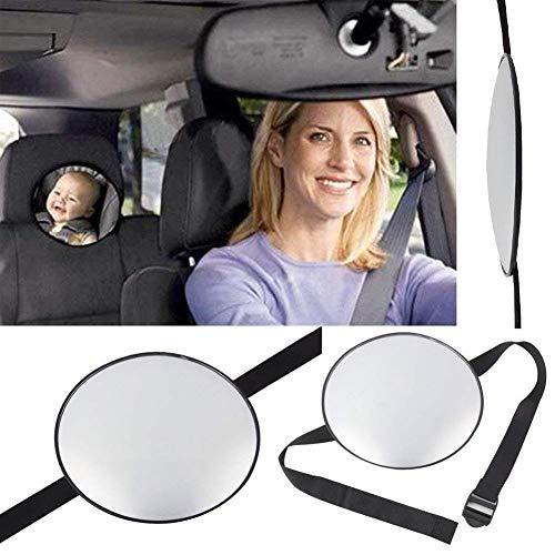 Nbws specchietto retrovisore, specchietto retrovisore auto, sedile posteriore, specchietto retrovisore regolabile