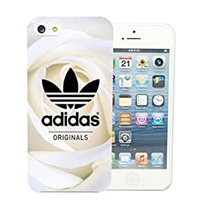 Coque iPhone 4 4S Adidas Original Roses Blanche White Flowers Apple Swag