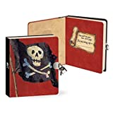Peaceable Kingdom Press / Lock & Key Diary 'Pirates