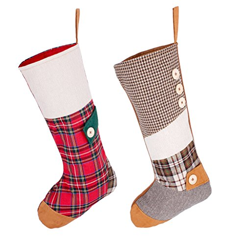 Raccogliere altamente elogiato molti stili 2 calza di Natale set (H21 x W10 inch) – Complimentary ...