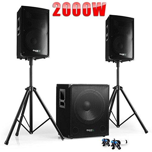 PACK Sono DJ CUBE 1512 + DISCO 12 +...