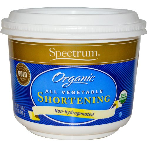 Price comparison product image Spectrum Naturals, Organic All Vegetable Shortening, 24 oz (680 g)