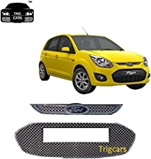 Trigcars Ford Figo Old Car Front Grill Chrome Plated - Free Gift 249/-