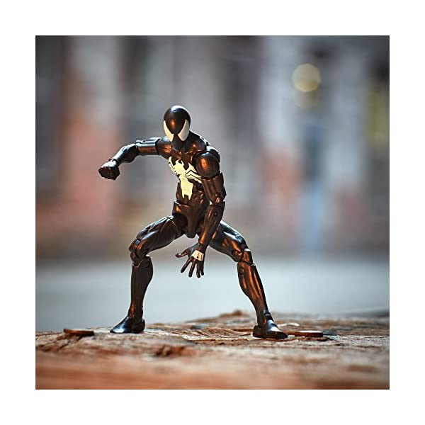 Marvel Spiderman Serie Legends Symbiote Spiderman, de 15,24 cm, diseño de Spider-Man 3