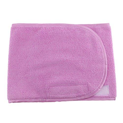 Homyl Serviettes de Bain Bandeu Cheveux Spa Serviettes Beauté Enveloppement de Maquillage - Violet