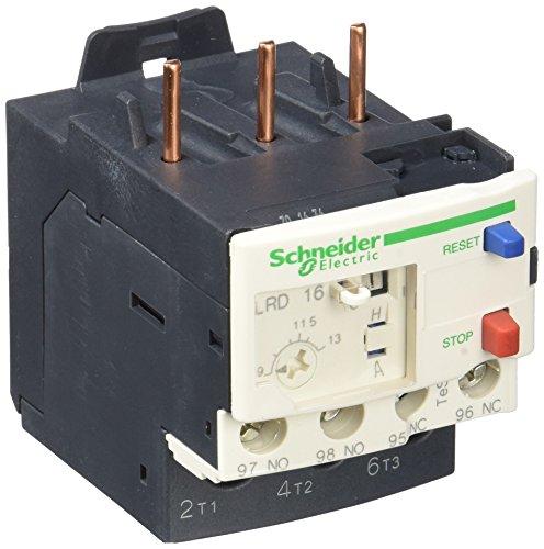 Schneider Electric LRD16 Tesys D Relés de Protección Térmica, 9.13 A, Clase...