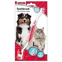 Beaphar Brosse à dents pour toutes les tailles de chiens