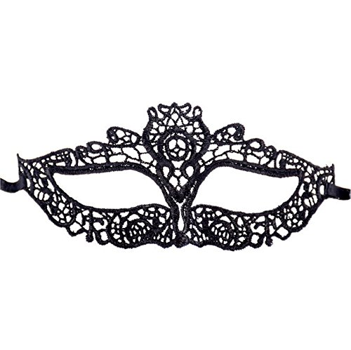 Maske Spitze Halloween Kostüm Sex Augen Halloween Maske Schwarz Party Queen Cosplay (Maskenball 2017 Halloween)