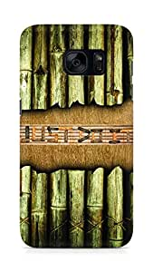 Amez designer printed 3d premium high quality back case cover for Samsung Galaxy S7 (Bamboo Just do it)