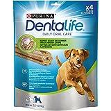 Die besten Purina Hunde-Leckereien - Purina DentaLife Maxi Tägliche Zahnpflege-Snacks für große Hunde Bewertungen