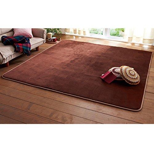 SESO UK- Alfombra de lujo de diseño moderno ( Color : Marrón , Tamaño : 200*300cm )