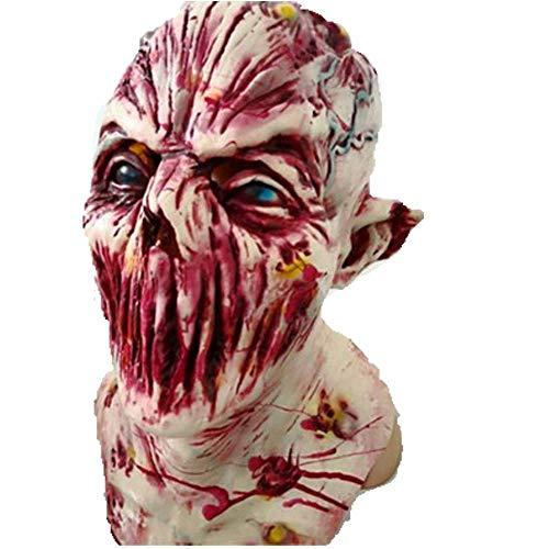 (Halloween Adult Maske Scary Clown Maske Maske Scary Extrem Eklig Vollgesichtsmaske)