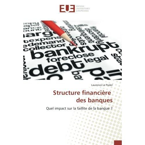 Structure financière des banques
